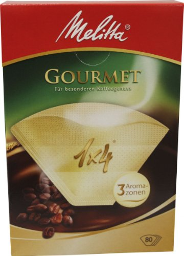 Melitta 1x4 Gourmet 80 Filtertüten