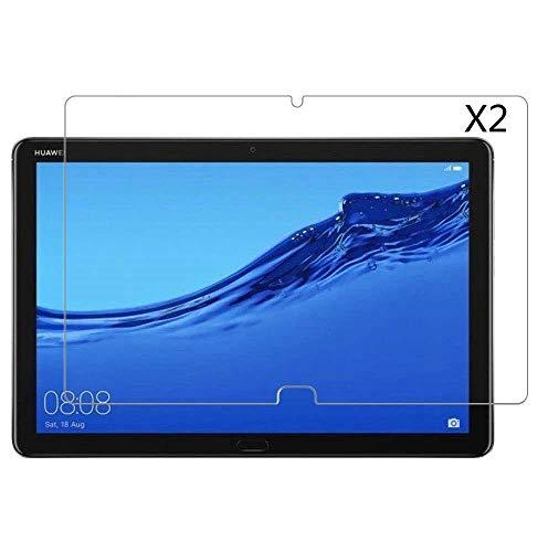 Kepuch 2 Pacchi Vetro Temperato Protezioni Schermo per Huawei MediaPad M5 Lite 10.1'