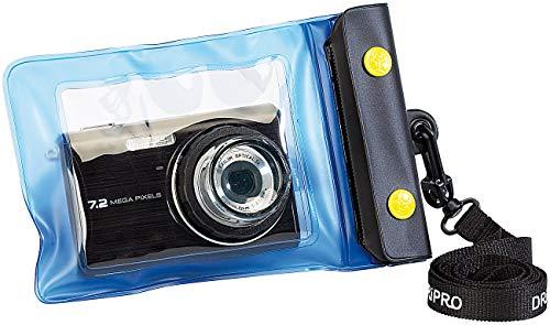 Somikon wasserdichte Kamerahülle: Unterwasser-Kameratasche XS mit Objektivführung Ø 30 mm (Regenschutz-Cases für Kameras)