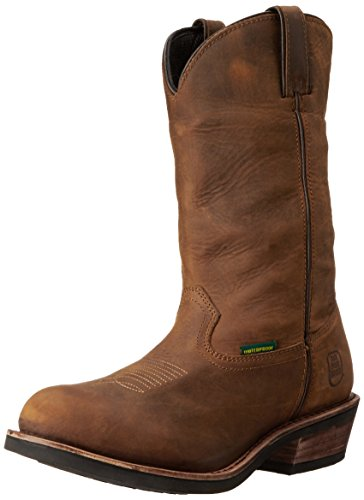 Dan Post Men's Albuquerque Waterproof Boot,Mid Brown Oily,11.5  EW US