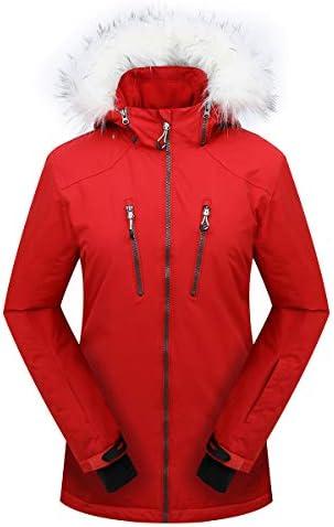 PHIBEE Women s Outdoor Waterproof Windproof Snowboard Breathable Snow Ski Jacket Red XL product image