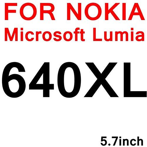 Pellicola Protettiva Compatibile,9H Tempered Glass for Lumia 640 430 435 530 535 730 735 820 630 635 XL 650 540 Screen Protector Film Glas Sklo for for Nokia 640XL