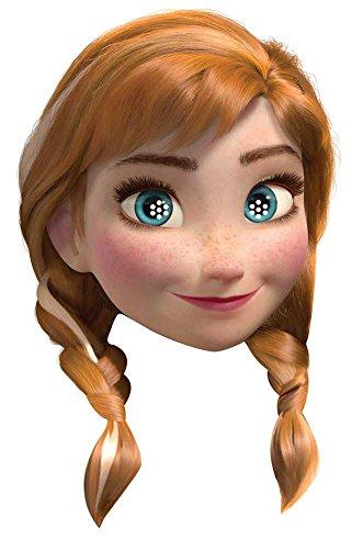 Star Cutouts–stsm167–Maske für Erwachsene Anna–Frozen