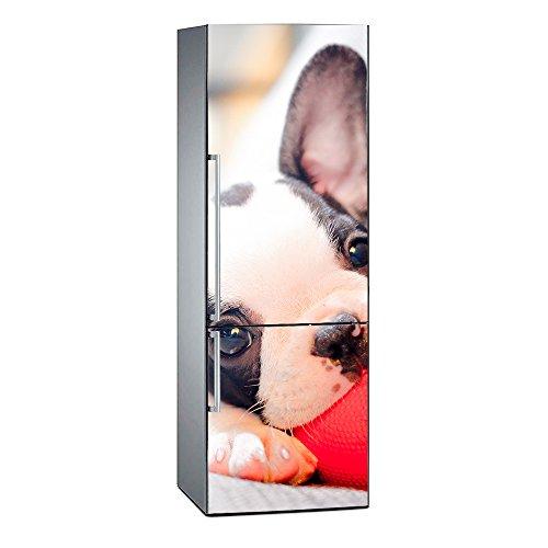 Oedim Vinilo para Frigorífico Bulldog   185 x 70 cm   Adhesivo Resistente y de Fácil Aplicación   Pegatina Adhesiva Decorativa de Diseño Elegante