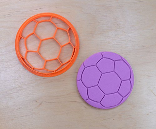 Soccer Ball Cookie Cutter (4 inches)