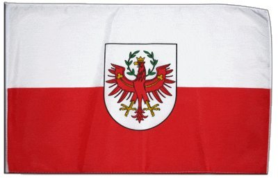 Fahne Flagge Österreich Tirol 30 x 45 cm