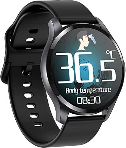 hwbq Reloj inteligente fitness tracker podómetro IP67 impermeable reloj fitness-negro