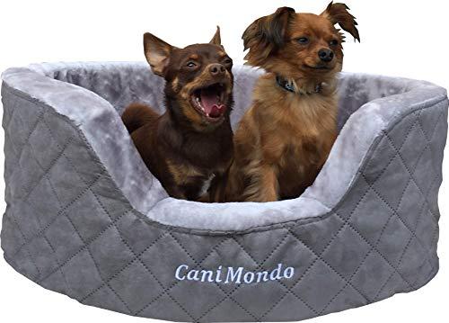 CaniMondo Hundebett Borsetta (L, Grigio grau)