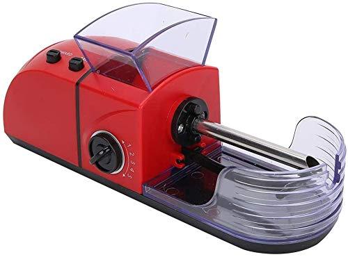 Máquina Electrica Para Liar Cigarrillos, Entubadora De Cigarros Tubos Liar Portatil Rodillo De Tabaco, Máquina Automática Para Liar Tabaco, Rodantes Tobacco Roller Maker red