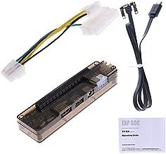 Semoic PCIe PCI-E V8.4D EXP GDC External Laptop Video Card Dock/Laptop Docking Station (Mini PCI-E Interface Version)