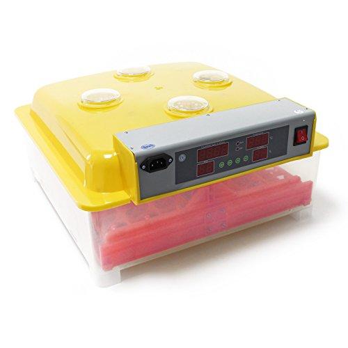 Wiltec Automatische Brutmaschine Inkubator für 36 Eier