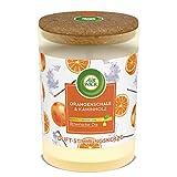 Air Wick - Velas perfumadas (1 unidad, aroma a naranja y leña)