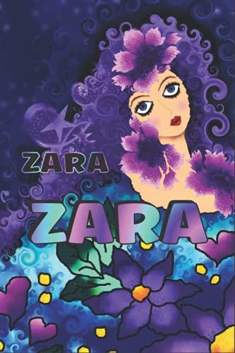 REGALO PERSONALIZADO PARA ZARA: Hermoso Diario Forrado Con El Nombre De Zara
