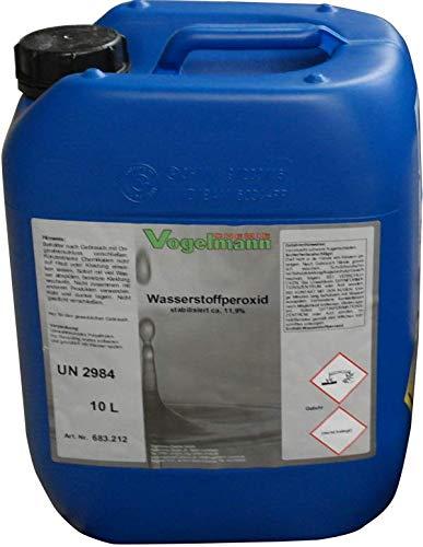 Vogelmann Chemie GmbH 10 l Wasserstoffperoxid 11,9% Aktivsauerstoff