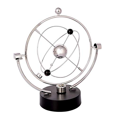 Globus Globe Swivel Globe Orbit Spinner Kinetic Orbital Revolving Physik Wissenschaft Spielzeug-Gerät Ideal for alle Büros Educational Desktop World Globe for Kinder for Kinder, Lehrer ect