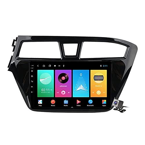 CIVDW 9 pulgadas pantalla Android 11 coche estéreo para Hyundai i20 2015 ~ 2019 incorporado Carplay auto apoyo control de voz/Bluetooth 5G WiFi FM AM Radio/espejo Link/navegación GPS SWC