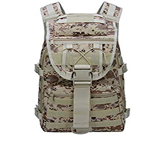 TnXan Hiking Backpack Trekking Rucksacks Molle Camo Tactical Backpack Military Army Waterproof Hiking Camping Backpack Travel Rucksack Outdoor Sports Climbing Bag 35L