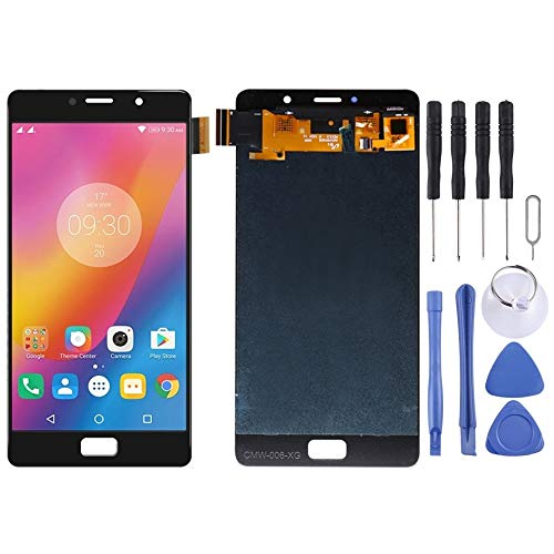WUCM -LCD Screen and Digitizer Full Assembly for Lenovo Vibe P2 P2c72 P2a42 (Black) DIY (Color : Black)