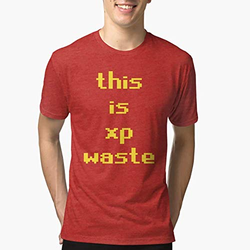 Runescape this is xp waste Triblend TShirtT shirt Hoodie for Men, Women Full Size.