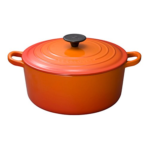 Le Creuset 25001240902461 Bräter Tradition rund 24 cm ofenrot