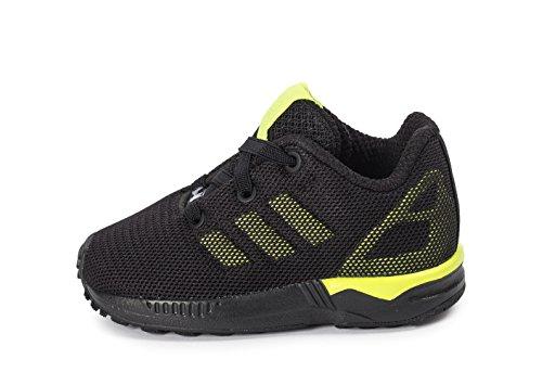 adidas Zx Flux Bébé Noire Et Jaune Noir 21