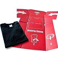 Idiotensichere T-Shirt-Falthilfe T-Shirt-Falthilfe mit aufgesruckter Anleitung Aus recycelbaren Materialien Narrensichere T-Shirt-Falthilfemit ausführlicher Anleitung;Saubere Wäsche zu falten wirdschneller und einfacher;Falten Sie Ihre T-Shirts jed...