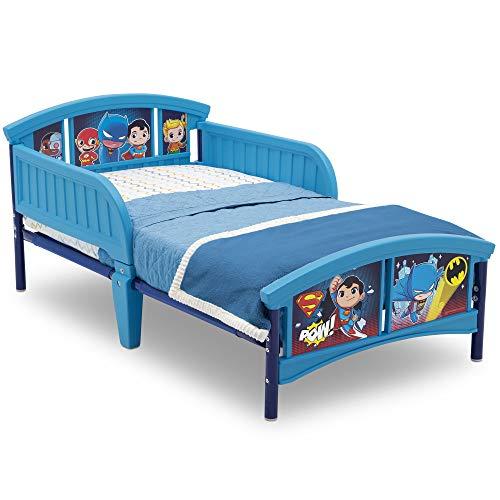 Delta Children Plastic Toddler Bed, DC Super Friends | Batman | Superman |...