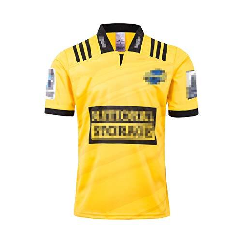 GXHLLYZY 2019 Hurricane Rugby Jerseys, Rugby-Fan-beiläufig Sport-Rugby Uniformen (Size : L)
