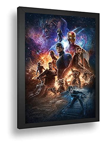 Quadro Decorativo Poste Marvel Vingadores Thanos