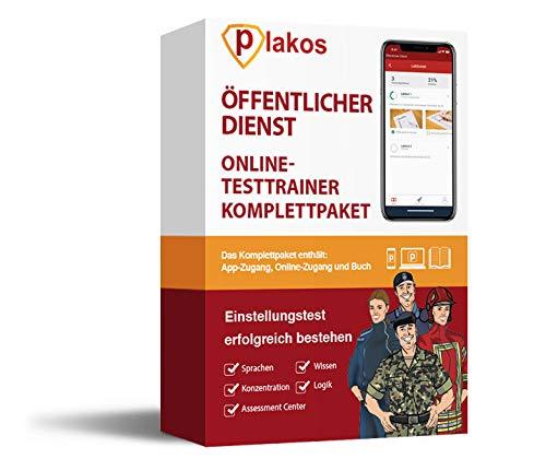 Öffentlicher Dienst Einstellungstest 2020 Online-Testtrainer mit Buch | 2500 Aufgaben und Fragen mit Lösungen: Allgemeinwissen, Sprache, Logik