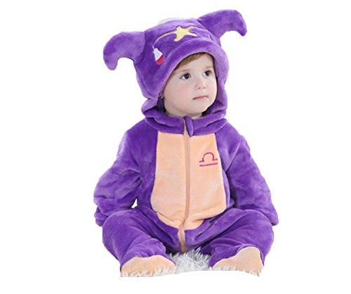 OHmais Bébé Fille garçon Unisexe Grenouillère Costume Deguisement Combinaison Pyjamas Hiver Balance