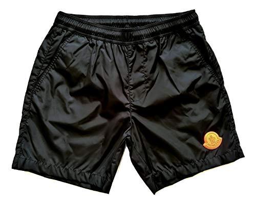 Moncler Badehose Boxer kurz Junior E1 954 0074605 53326 schwarz, Schwarz 10 Jahre