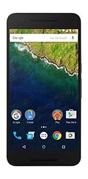 Huawei Nexus 6P – 32 GB Graphite  U.S Version  Nin-A1  - Unlocked 5.7-inch Android 6.0 smartphone w/ 4G LTE  U.S Warranty