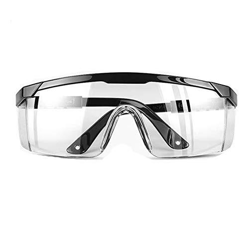 Gafas de seguridad transparentes con gafas de correa Virus de protección médica para los ojos Anti niebla (style1) ✅