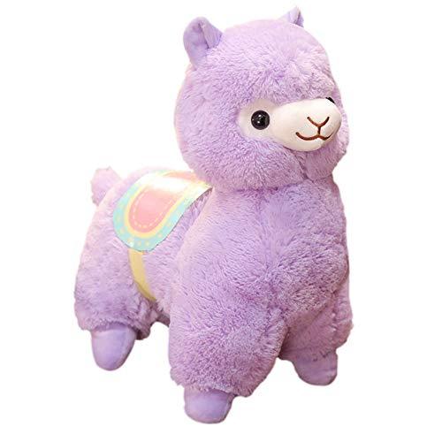 YaptheS Giocattolo della Peluche del Giocattolo della Peluche del Fumetto Tessuto Llama Stitch Bambola di pezza Alpaca di Compleanno Giocattoli del Re