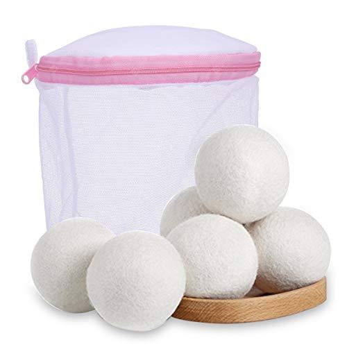 Bolas de Lana (100% lana natural) para secadora (4 unidades)
