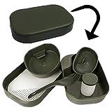 Copytec Camp A Box Geschirr + Besteck Survival Camping Outdoor Zelten EPA #17137