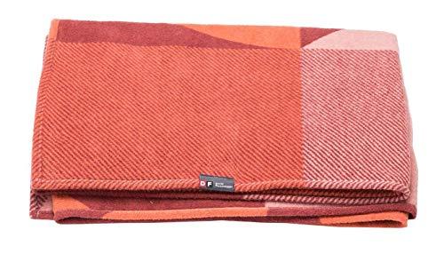 David Fussenegger - Velvet Plaid, Decke - Artdeco - Rouge - 135 x 200 cm