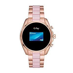 Michael Kors Access Women's Bradshaw 2 Touchscreen Stainless Steel Smartwatch, Rose Gold and Blush-MKT5090