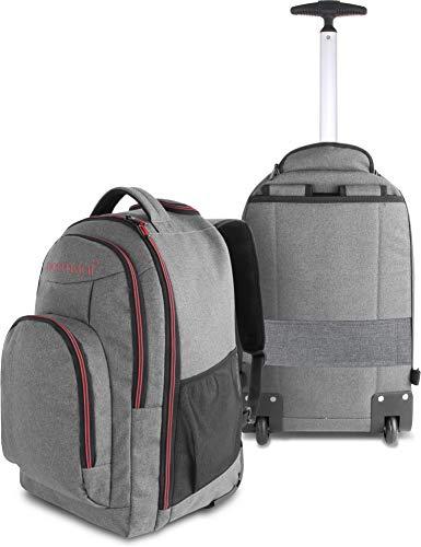 normani Rucksack mit Trolleyfunktion - 30 Liter Volumen Rucksacktrolley mit Laptopfach für Schule,...