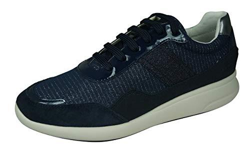 Geox Mujer Zapatos de Cordones D Ophira, señora Calzado Deportivo,Zapato con Cordones,Calzado...