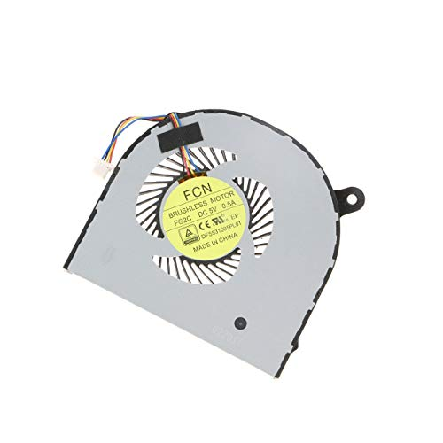 X-Comp CPU Ventilador refrigerador Fan Ventilador dfs531005pl0t de fg2C Derecha para Acer Aspire V Nitro VN7–591G R7–571G Serie