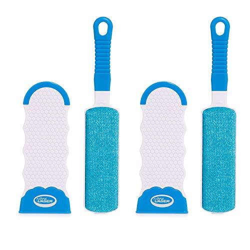 Aqua Laser Sticky Hero Bürsten, doppelseitig, mit selbstreinigender Basis, 2 Stück