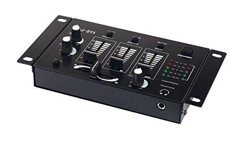 American DJ 4250019103605 Mischpult schwarz DJ-211
