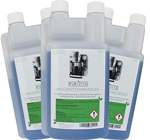 Purivita - Milchsystemreiniger - für Kaffeemaschine & Kaffeevollautomaten 3000ml