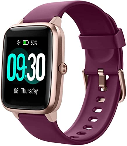 Willful Smart Watch1.3 : Touch Screen Smartwatch,Fitness Trackers With Heart Rate Monitor,Waterproof IP68 Activity Trackers Watch Pedometer Stopwatch,Smart ... for iPhone Android Phon (English Edition)