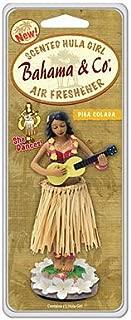 American Covers Inc 06760 Bahama & Co, Pina Colada Scent, Hula Girl Air Freshener