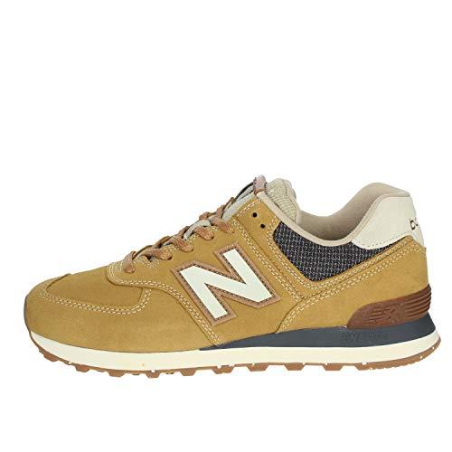 New Balance Herren 574v2 Sneaker, Braun (Brown SOI), 42.5 EU