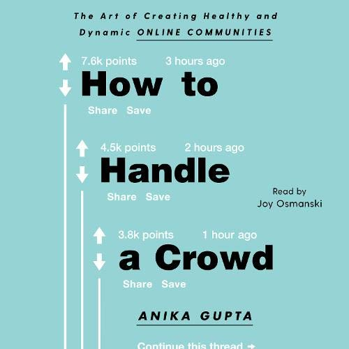 How to Handle a Crowd Audiobook By Anika Gupta cover art