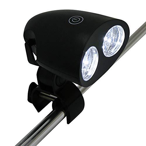 Gyfhmy Grilllamp, super helder, 100 lumen, 360 graden rotatie, BBQ, outdoor, led, eenvoudig te installeren, touch-schakelaar, verstelbare schroevendraaier